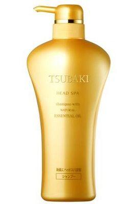 Шампунь Shiseido Tsubaki Head Spa (золотая серия) с натуральными эфирными маслами 550 ml