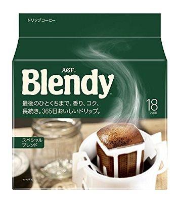 AGF Blendy Special Blend молотый кофе в дрип-пакетах (18 пакетиков)